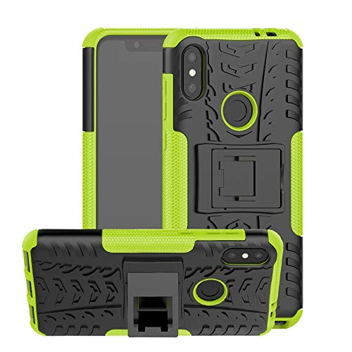 CaseExpert Motorola One Power Funda, Heavy Duty Silicona híbrida con Soporte Cáscara de Cubierta Protectora de Doble Capa Funda Caso para Motorola One Power / P30 Note