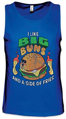 Urban Backwoods I Like Big Buns Heren Tank Top Training Gym Shirt