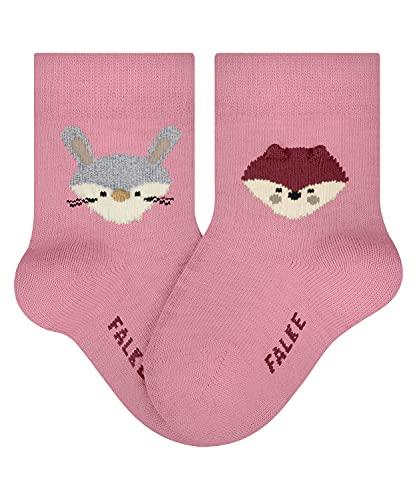 Falke Fox and Rabbit B SO Calcetines, Rot (Bonbon 8476), 1-6 Monate (62-68cm) para Bebés