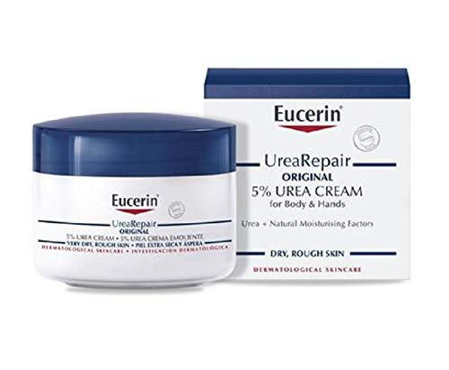 Eucerin Dry Skin Replenishing Cream with 5{33f103c8d554ec27129ea64e2c4f6d3fad430e6e82e06e562521a9f0d28f165e} Urea 75ml