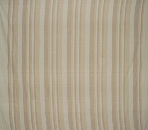 Homestead Heavy Cotton Ribbed Bedspread 98' x 88' Tan on Beige