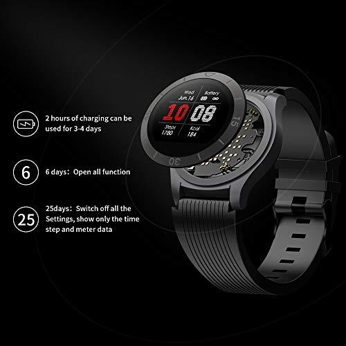 TOTOBAY Montre Connectée Smartwatch, Bluetooth Montre Sport avec Moniteur de fréquence Cardiaque...