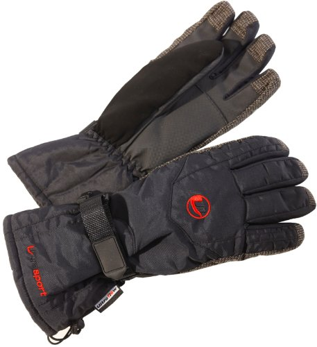Ultrasport - Gants de ski homme - Noir - XL