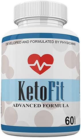 Keto Fit Advanced Formula Ketosis Weight Loss Support 60 Capsules 1 Month Supply KetoFIT product image