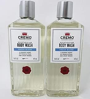 CREMO Body Wash Fresh Blend 16 FL OZ - 2-PACK