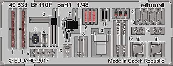 Eduard 1:48 Bf-110 F Color PE Detail Set Kit #49833