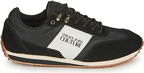 VERSACE JEANS COUTURE Herren Sneakers Gymnastikschuhe, Schwarz (Nero 899.0), 40 EU