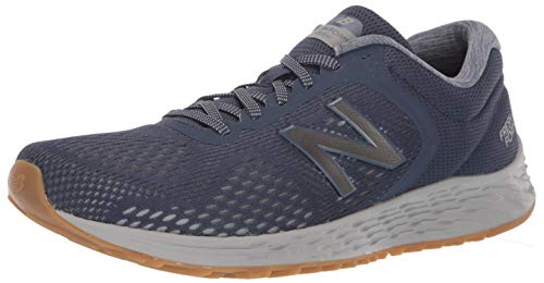 New Balance Men's Fresh Foam Arishi V2 Running Shoe, Navy/Grey, 7.5 XW US