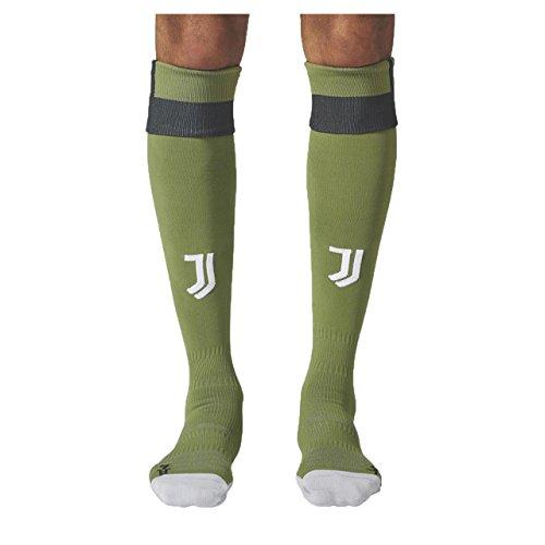 adidas Juve 3so Socken Linie Juventus Turin, Herren, Grün (Verart/Schwarz)