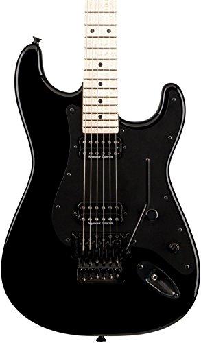 CHARVEL SAN DIMAS STYLE 1 HSHT SCHWARZ AHORN GRIFFBRETT E-Gitarren Metal - Modern