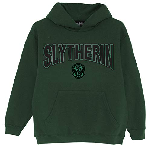 Harry Potter Escudo de Slytherin Niños Sudadera con Capucha Verde 128