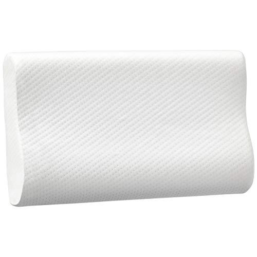 Amazon Basics Geformtes Rückstellschaum-Nackenkissen, 50 x 30 x 10 / 7 cm