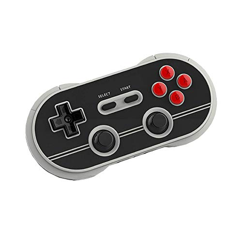 8Bitdo N30 Pro2 Wireless Bluetooth Gamepad Controller N Edition for Nintendo Switch MacOS Android Windows Steam - Includes Game Controller Holder