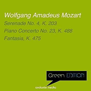 Green Edition - Mozart: Serenade No. 4, K. 203 & Piano Concerto No. 23, K. 488