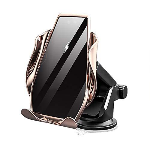 YuuHeeER 1 soporte de teléfono inalámbrico rápido para coche con sujeción automática para rejilla de ventilación para teléfono.