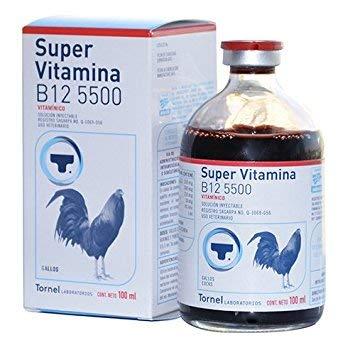 Vitamina B12 5500 100ml Gallos Aves Gamefowl