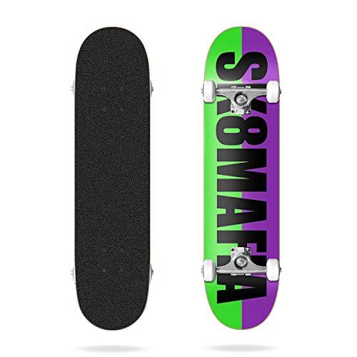 Sk8mafia Og Logo Split Black 8.0', Complete Skateboards Unisex Adulto, Multicolore, Taglia Unica