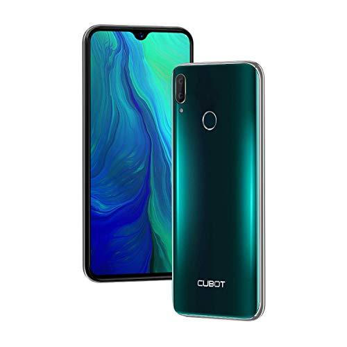 Cubot R15 (2019) Android 9.0 Dual SIM Smartphone ohne Vertrag, 6.26 Zoll Waterdrop-Notch HD Display mit 3000 mAh Akku, 2GB Ram+16GB interner Speicher, Hauptkamera 13MP+2MP / Frontkamera 8MP, Grün