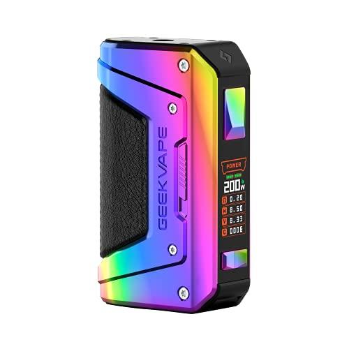 GEEKVAPE AEGIS Legend 2 Akkuträger Box Mod, 200 Watt, ohne Liquid und somit ohne Nikotin, rainbow, 300 g