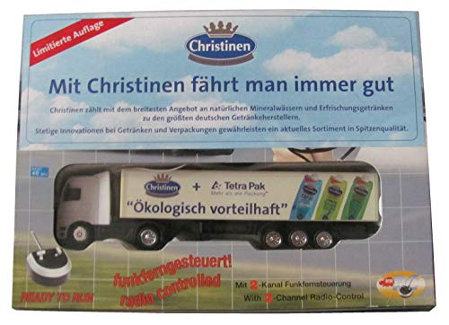 Christinen Brunnen - Tetra Pak - RC Modell - Ferngesteuerter Truck - Sattelzug - von Dickie