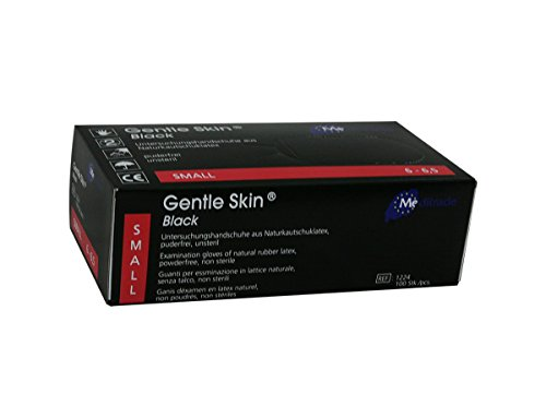 Meditrade 1224S Gentle Skin Black, 1er Pack (1 x 100 Stück)