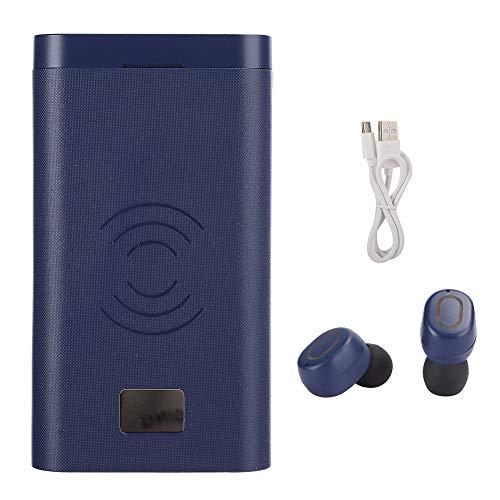 Weikeya Poder Banco Auricular, Abdominales 10000mAh 10W Cargador Poder Banco por Deportes Viaje Tapones para los oídos
