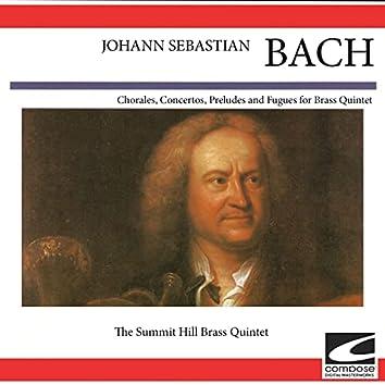 Johann Sebastian Bach - Chorales, Concertos, Preludes and Fuges for Bass Quintet