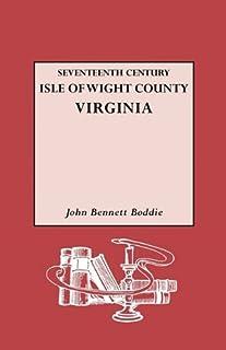 Seventeenth Century Isle of Wight Co., Virginia