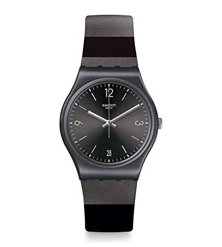 Reloj Swatch Analógico Cuarzo Gent GB430 BLACKERALDA
