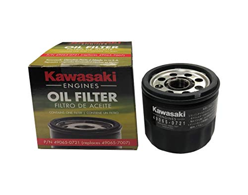 Kawasaki 49065-0721 Oil Filter Replaces 49065-7007