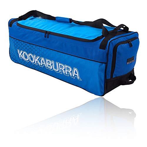 KOOKABURRA 2020 Pro 3.0 Cricket Wheelie Bag, Marineblau/Cyan, 920mm x 330mm x 320mm