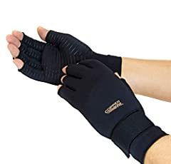Each package contains one pair of Copper Fit copper Infused compression gloves: one for each hand. Hand relief compression can be used for all day relief from pain and to reduce swelling and more. The pair is adjustable but meant to fit tightly - lik...