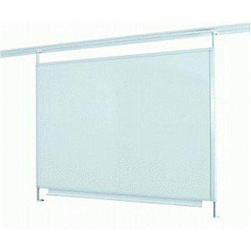 Legamaster 7-320071 Whiteboard für Legaline Dynamic Wandschienensystem, emailliert, 100 x 120 cm, weiß