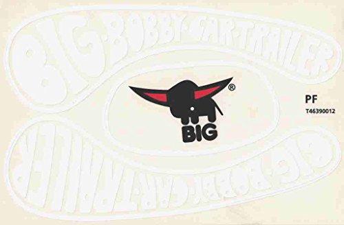 Big Bobby Car Stickers Aufkleber für Trailer Anhänger Classic