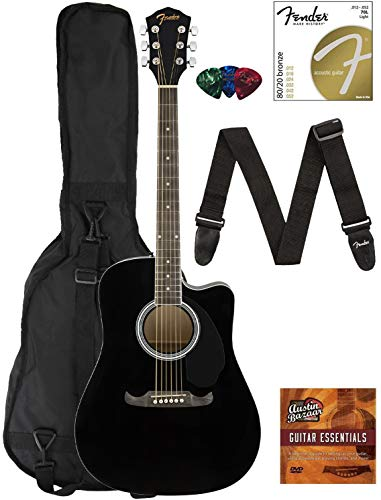 Fender FA-125CE Dreadnought Cutaway Acoustic-Electric Guitar Review