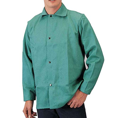 "Tillman 6230 Firestop Welding Jacket 30"" 9oz 2XL, Green"