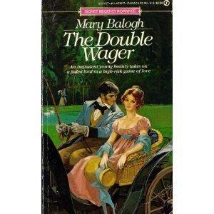 Mass Market Paperback Double Wager (Signet Regency Romance) by Balogh, Mary(June 4, 1985) Mass Market Paperback Book