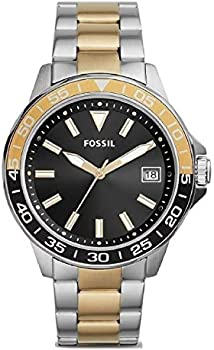 Fossil Bannon Three-Hand Date Gold-Tone Stainless Steel Watch