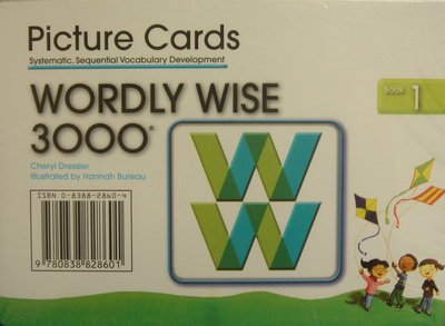 Wordly Wise 3000 Book 1 Picture Cards