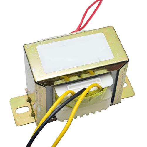 DES Transformador EI Cuadrado de CA Doble de 18 V y 50 W para Preamplifer 2.1 Tablero de Tonos de Amplificador Utilice el Transformador de Potencia de 220 V LM1875