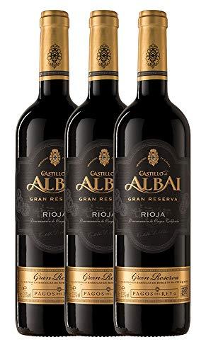 Castillo De Albai Vinto Tinto Gran Reserva D.O.C. Rioja - 3 Paquetes de 750 ml - Total: 2250 ml