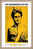 ポスター ボビー ヒル Kahlo 額装品 ウッドベーシックフレーム(オフホワイト)