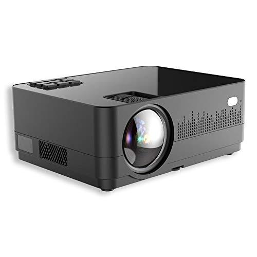 TAIQIXI Projector Home Hd 1080p Smart Wifi Home Theater Mini Portable Projector(B)