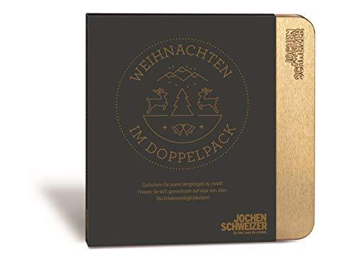 Jochen Schweizer Erlebnis-Box Weihnachten im Doppelpack, über 760 Erlebnisse für Zwei, Weihnachts-Geschenk Frauen, Weihnachts-Geschenk Männer, Pärchen Geschenke
