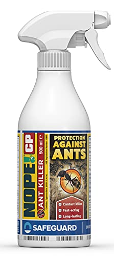 NOPE! CP Ant Killer Spray (500ml) Long-Lasting, Fast Acting for Indoor and...