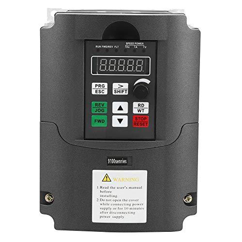 NFLIXIN @ 9100-1T-00400D Inversor solar de frecuencia variable DC200-400V Entrada trifásica 0-220VAC Salida 0-650Hz 4KW para control de velocidad del motor del husillo