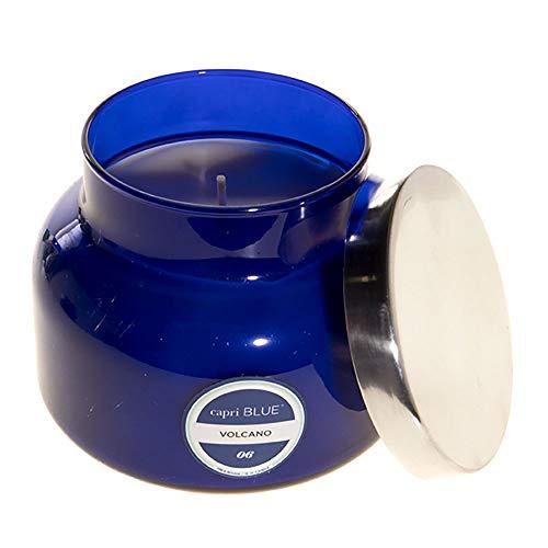 Aspen Bay Capri Blue Jar Candle - Volcano