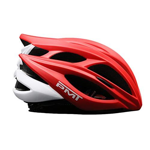 Boayiter Valbeveiliging fietshelm, mountainrace gespecialiseerd skiën straathelm sport veiligheid Medium rood-b