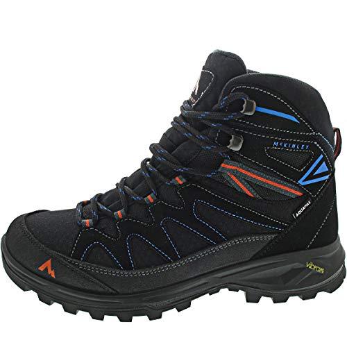 McKINLEY Herren Vulcanus Mid AQX Mountainbiking-Schuh, Anthracite/BLUEROYAL, 46 EU