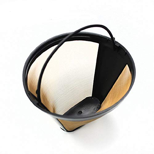 Panlom? Universal Coffee Filter Washable & Reusable Household Coffee Mesh Basket Cup Profession Coffee Accessories